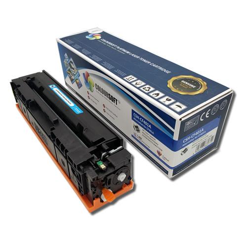 HP 201A Cyan Toner Cartridge (CF401A) by ColourSoft Main