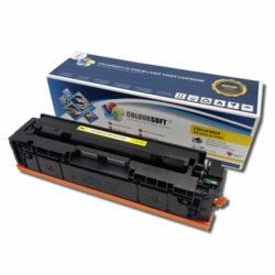 HP 201A Yellow Toner Cartridge (CF402A) by ColourSoft Main