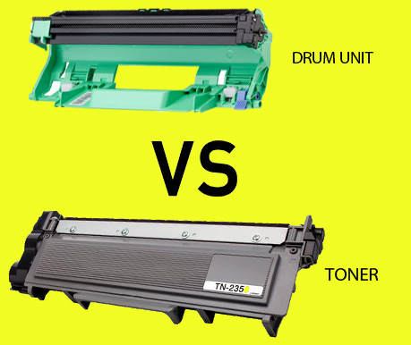 Differences between toner and drum